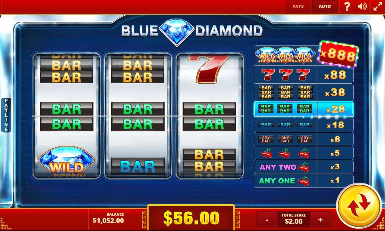 Game Review Blue Diamond