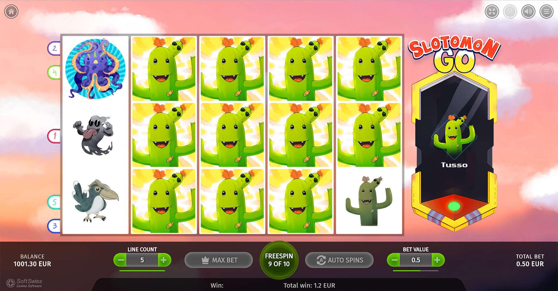 Game Review Slotomon Go
