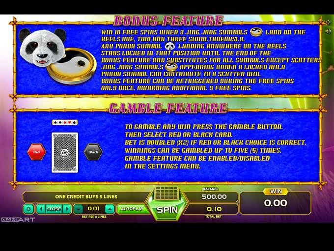 Game Review Fortune Panda
