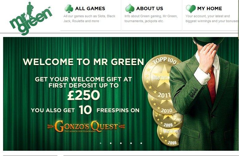 LCB's Tenho7 Gets Lucky at Mr. Green Casino