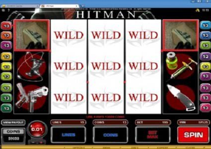 Go Wild Casino $700 Win on Hitman Slot