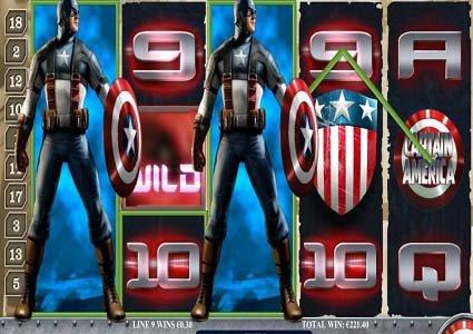 Captain America Slot Spins Luck for LCB Member Paul