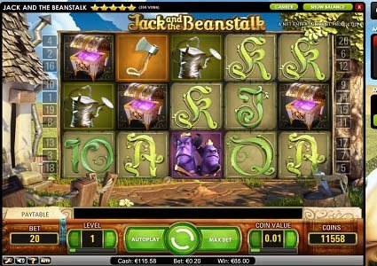 Jack and the Beanstalk Slot Win for Plopp800