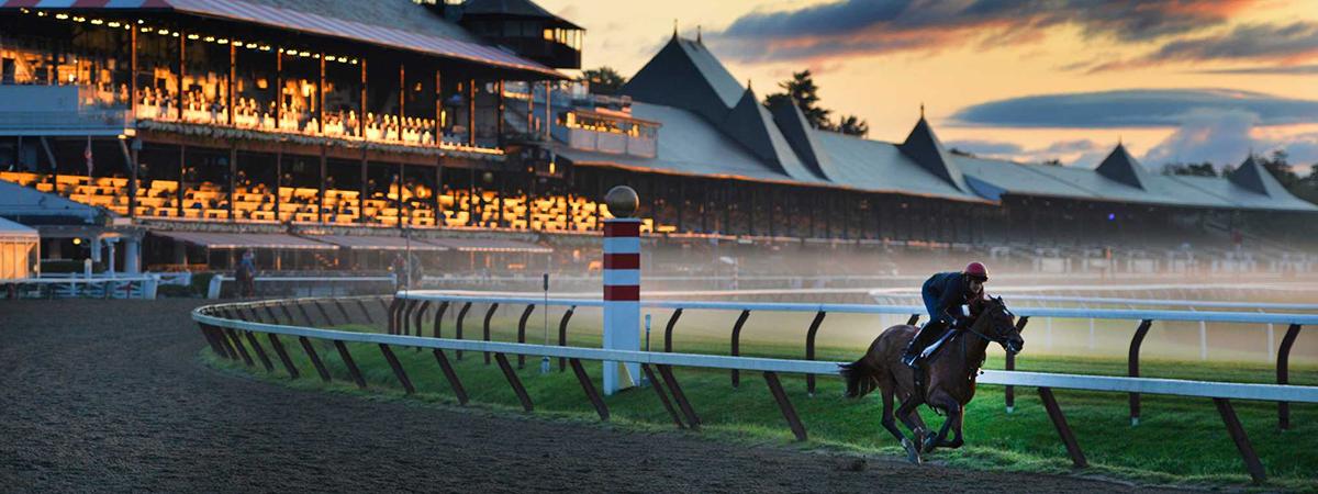 Saratoga race course 2