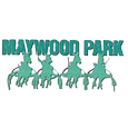 Maywood park race track logo