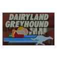 Dairyland greyhound park logo