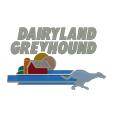 Dairyland greyhound park logo