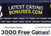3000 FREE Casino Games at LCB and Counting