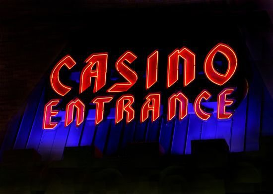 Gambling Oasis in a Small Desert Town in Nevada