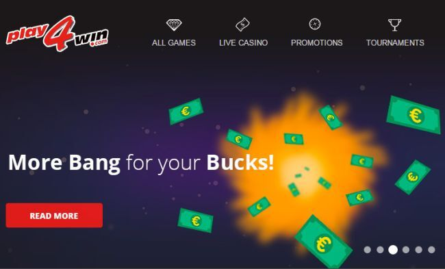 Play4Win Casino - An Interview about their Loyalty Program, Games and Bonuses