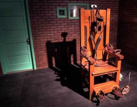 Old Sparky Tribute - Famous Mob Museum in Las Vegas