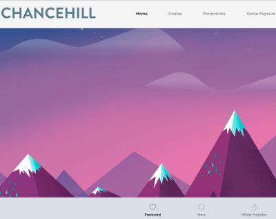 Chance Hill relaunches with new site design