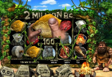 Stone Age in Betsoft's New Slot