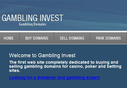 Online Gambling Domains Up for Sale