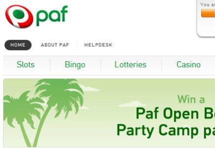 Paf Online Casino Sees Mega Fortune Jackpot Hit