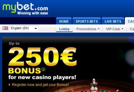Update: Bigger Casino Offering for MyBet.com