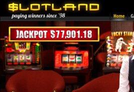 Slotland Sees Another Progressive Jackpot Go