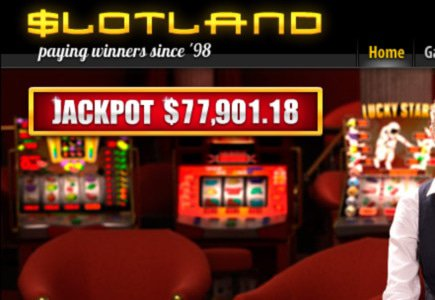 Slotland Sees Another Progressive Jackpot Go