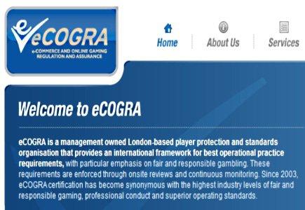 Update: Latest eCOGRA eGAPS