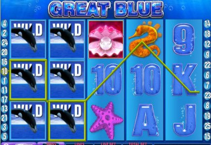 Greek Player Earns Euro125 000 on Great Blue Slots