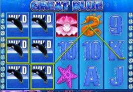 Great Blue Online Slot Winner On An Incredible Winning Streak