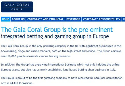 Ladbrokes Former Exec Now Part Of Gala Coral Group