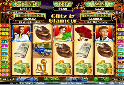 Real Time Gaming Release Glitz and Glamour Slot