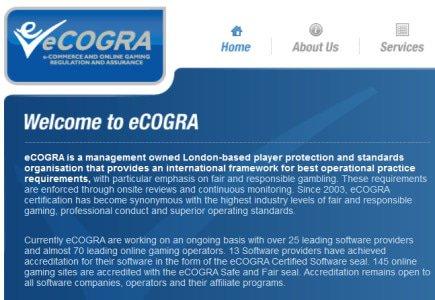 Italian and International Bodies Recognize eCOGRA