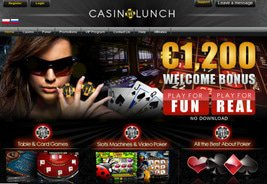 CasinoLunch - New Online Casino