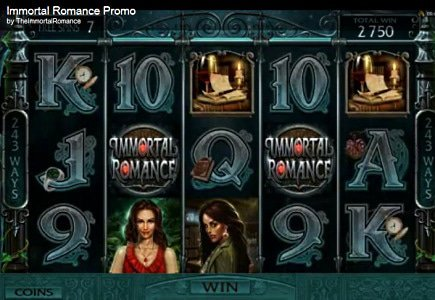 Microgaming Releases Immortal Romance