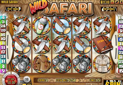 Rival Introduces Wild Safari Online Slot