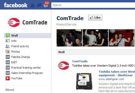 ComTrade On Facebook