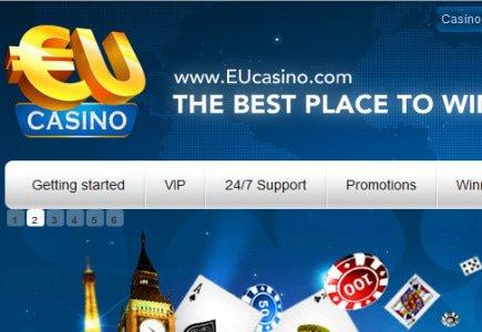 EUcasino Features New, Live Dealer Action