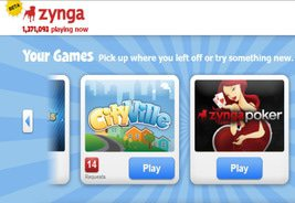 Update: Zynga's Platform in Beta Goes Live