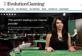 Evolution and Unibet in Live Casino Venture