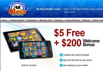 New Android App from AllSlots Casino