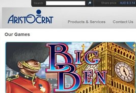 Aristocrat Boasts its Quality Online Gaming Offering