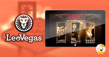 Scarface Slot Features in LeoVegas Casino Ad