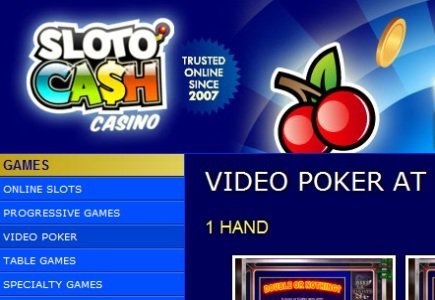 Massive Jackpot Win at Sloto'Cash!