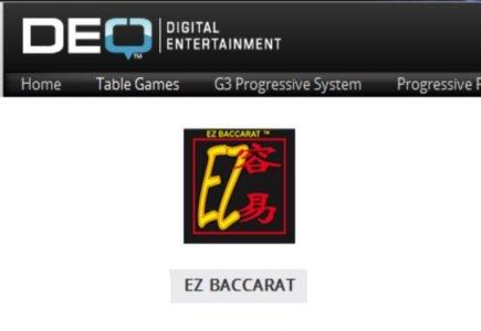 DEQ's EZ Baccarat Enters Social Gaming Environment