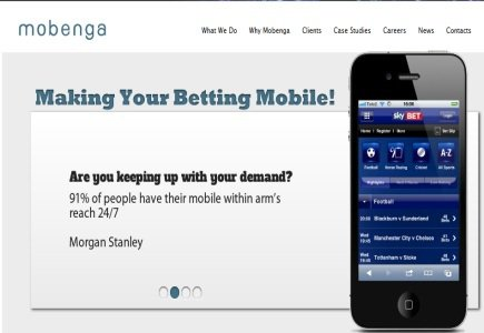 Betboo chooses Mobenga as its Mobile Gambling Provider