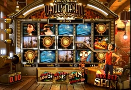 New BetSoft Online Slot Inspired by Time Machine