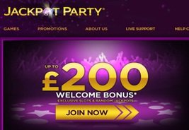 Jackpot Party Expands to Europe