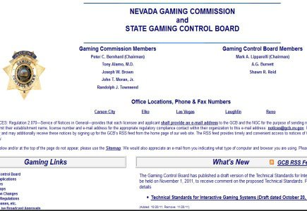 Update: Nevada Gaming Control Board Nods Twice This Week