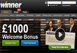Winner Casino Produces Two Big Winners