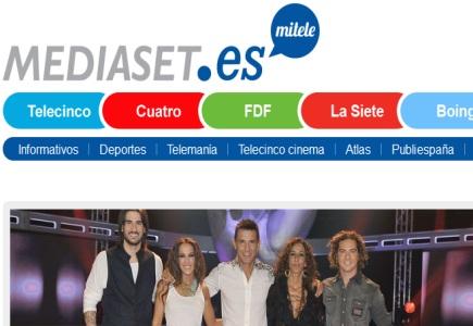 Main mediaset espana