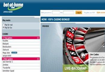 Main bet at home casino