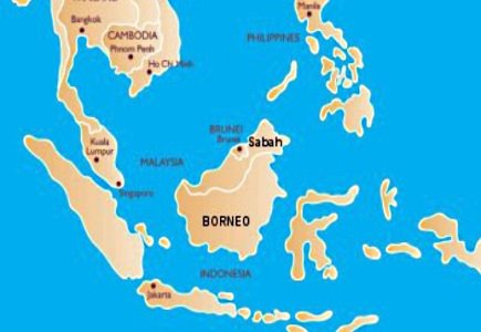 Borneo Police Conducts Five Raids