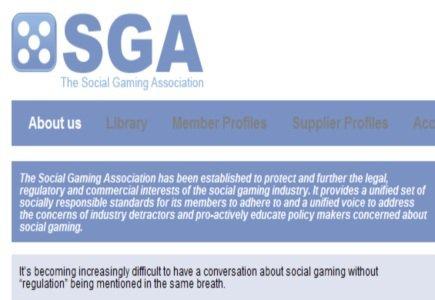 SGA - Social Gaming Association Launched