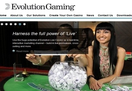 100th Live Dealer Casino Signs Up for Evolution Gaming's Product